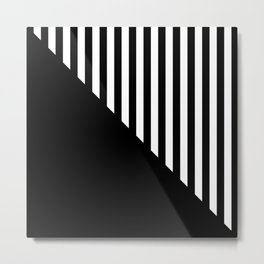 MIDCENTURY DESIGN (BLACK-WHITE) Metal Print