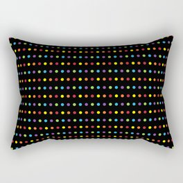 Disco Lights Rectangular Pillow