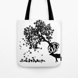 Elk-Naturalle Tote Bag