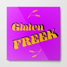 Gluten Freek (Retro Harvest) Metal Print