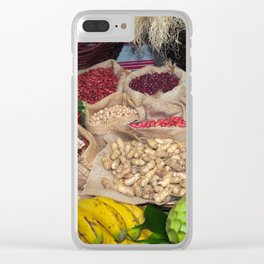 Healthy ingredients Clear iPhone Case