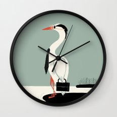 Back to work Wall Clock