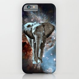 Where do Elephants Come From? iPhone Case
