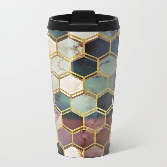 RUGGED MARBLE Metal Travel Mug