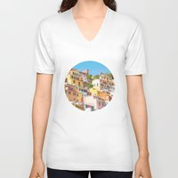 italy V-neck T-shirts featuring Italy by GF Fine Art Photography