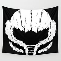 metroid Wall Tapestries featuring SAMHAIN SAMUS by UNDEAD MISTER / MRCLV