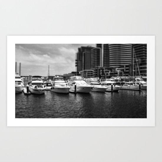 Small Boats Art Print