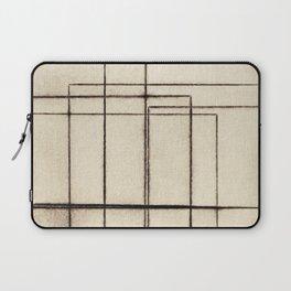 Toner Lines on Paper Laptop Sleeve