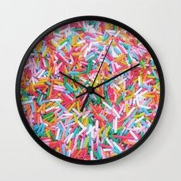 Sprinkle Me Wall Clock