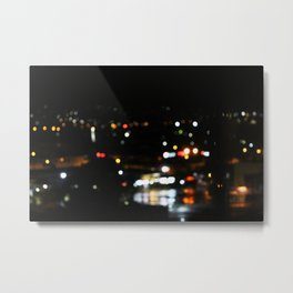 Night to Reflect Metal Print