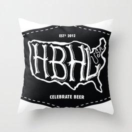 Hoppy Beer Hoppy Life Celebrate Beer Shirt Throw Pillow