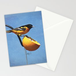 Good Morning Oriole Stationery Cards