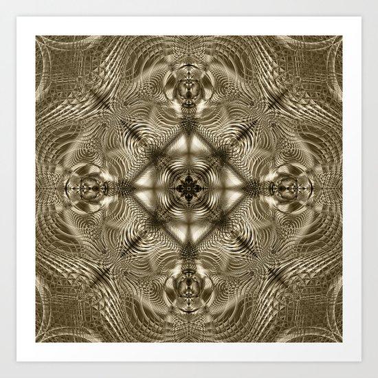 Grandma's Lace Art Print
