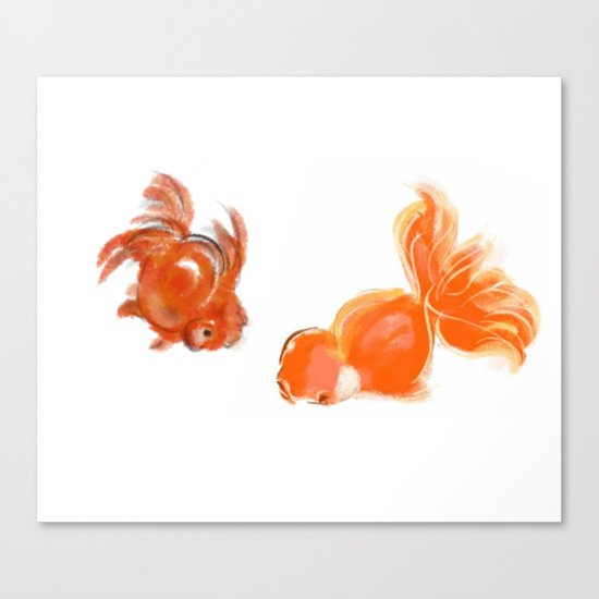 goldfish 1 Canvas Print