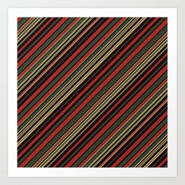 Just Stripes 3 Art Print