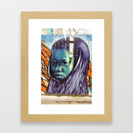 Kensington Street Art  Framed Art Print