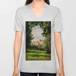 Dumbleton Manor (2) Unisex V-Neck