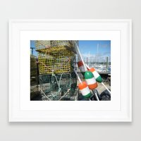 irish Framed Art Prints featuring Irish by courtney2k ⚓ design™