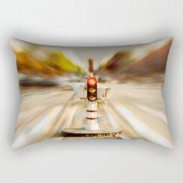 Wait Rectangular Pillow