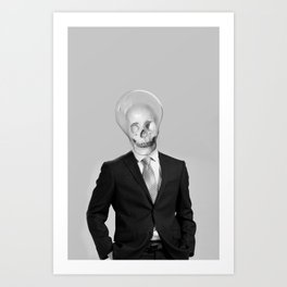 BRIGHT MAN Art Print