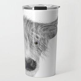 highland cow Travel Mug