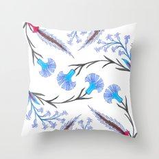 fleurs anciennes 2 Throw Pillow