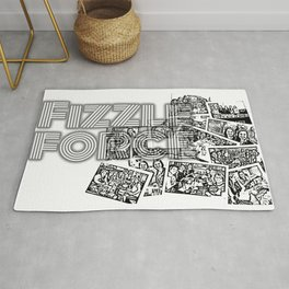 Fizzle Force Photocopy Rug