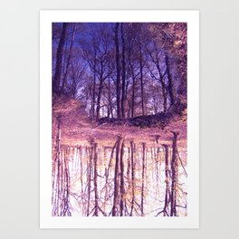 The Nature World up side down Art Print