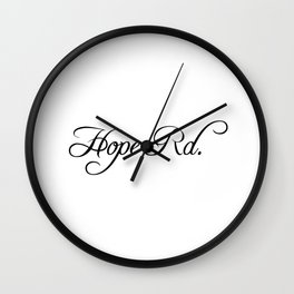 Hope Road Wall Clock