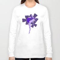 indigo Long Sleeve T-shirts featuring Indigo by daniellepioli