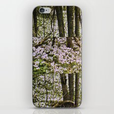 STILLNESS IS A VIRGIN WOOD I iPhone & iPod Skin