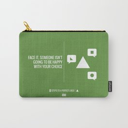 Perfect Logo Series (11 of 11) - Green Carry-All Pouch