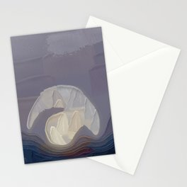 Visible By The Wheel Of Light Stationery Cards