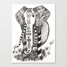 Elly Fun Canvas Print