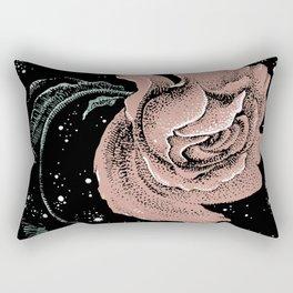 Warped Rose Rectangular Pillow