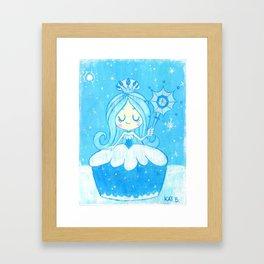 Queen Frostine Framed Art Print