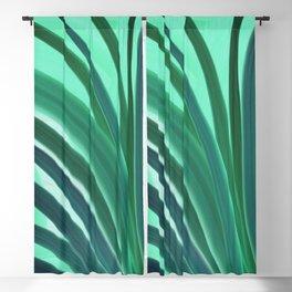 Green Jungle Blackout Curtain