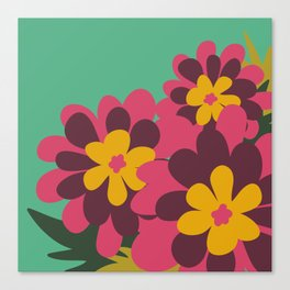 Flowers for Lola Canvas Print