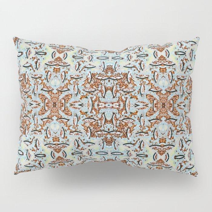 Rusty Metal Pillow Sham