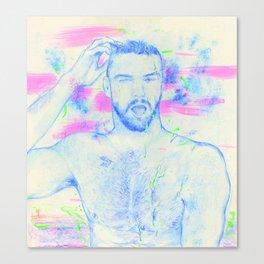 Boy: Black Belt Canvas Print