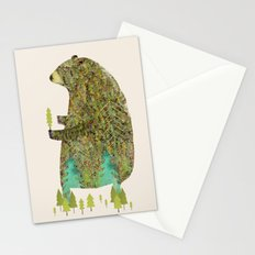 the forest keeper Stationery Cards