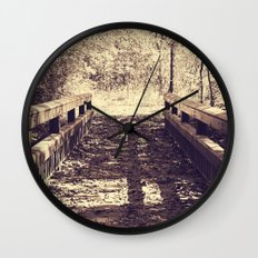 A Walk in the Woods Wall Clock