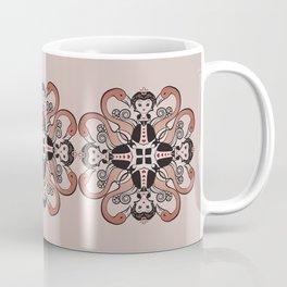 Queen of Hearts mandala Coffee Mug