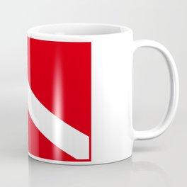 Diving flag Coffee Mug