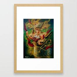 The Literary Device Framed Art Print
