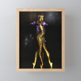 Cosmic Dance Framed Mini Art Print