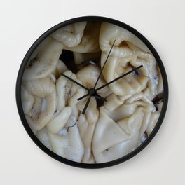 Melted figurines Wall Clock