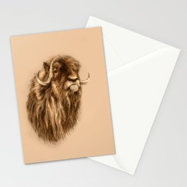 I Musk Ox you a question Stationery Cards