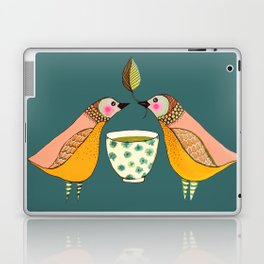 a tea for two Laptop & iPad Skin