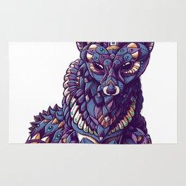 Fennec Fox (Color Version) Rug